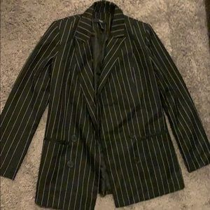 Pinstriped blazer Forever 21 medium